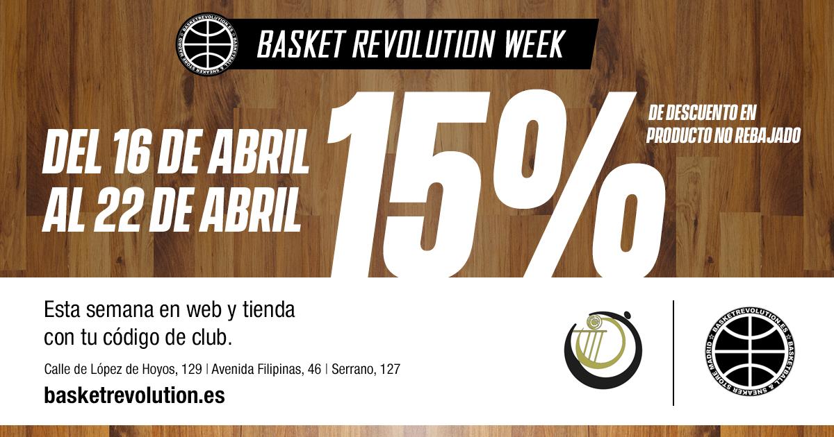 513a90f9 Semana de descuentos en Basketrevolution